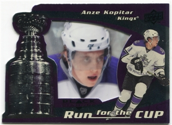 2008/09 Upper Deck Black Diamond Run for the Cup #CUP20 Anze Kopitar /100