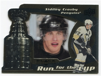 2008/09 Upper Deck Black Diamond Run for the Cup #CUP35 Sidney Crosby /100