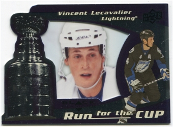 2008/09 Upper Deck Black Diamond Run for the Cup #CUP38 Vincent Lecavalier /100