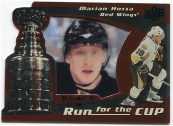 2008/09 Upper Deck Black Diamond Run for the Cup #CUP16 Marian Hossa /100