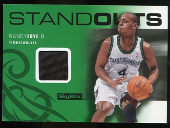 2008/09 Upper Deck SkyBox Standouts Retail #SOFO Randy Foye