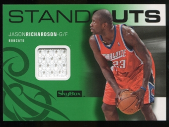 2008/09 Upper Deck SkyBox Standouts Retail #SOJR Jason Richardson