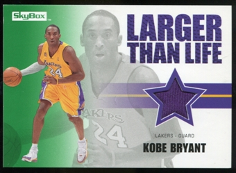 2008/09 Upper Deck SkyBox Larger Than Life Retail #LLKB Kobe Bryant