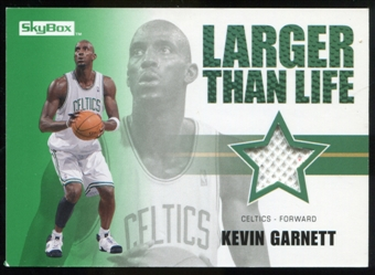2008/09 Upper Deck SkyBox Larger Than Life Retail #LLKG Kevin Garnett