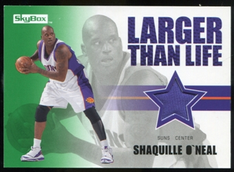 2008/09 Upper Deck SkyBox Larger Than Life Retail #LLSO Shaquille O'Neal
