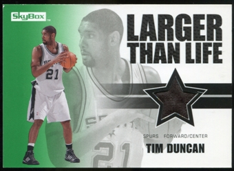 2008/09 Upper Deck SkyBox Larger Than Life Retail #LLTD Tim Duncan