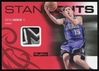 2008/09 Upper Deck SkyBox Standouts Patches #SOBU Beno Udrih /25