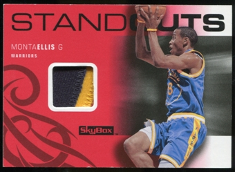 2008/09 Upper Deck SkyBox Standouts Patches #SOME Monta Ellis /20