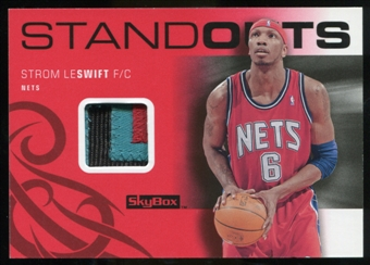 2008/09 Upper Deck SkyBox Standouts Patches #SOSS Stromile Swift /25