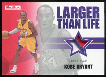 2008/09 Upper Deck SkyBox Larger Than Life Patches #LLKB Kobe Bryant /25