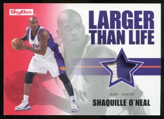 2008/09 Upper Deck SkyBox Larger Than Life Patches #LLSO Shaquille O'Neal /25
