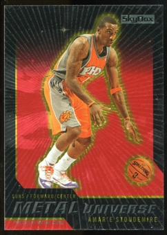 2008/09 Upper Deck SkyBox Metal Universe Precious Metal Gems Red #15 Amare Stoudemire /50