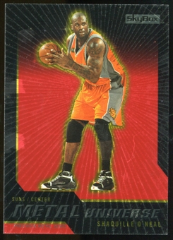 2008/09 Upper Deck SkyBox Metal Universe Precious Metal Gems Red #17 Shaquille O'Neal /50