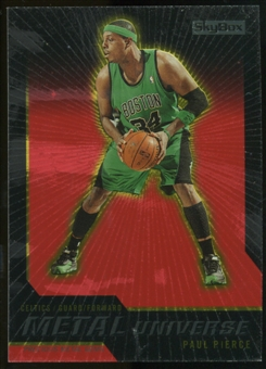 2008/09 Upper Deck SkyBox Metal Universe Precious Metal Gems Red #21 Paul Pierce /50