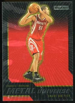 2008/09 Upper Deck SkyBox Metal Universe Precious Metal Gems Red #29 Shane Battier /50
