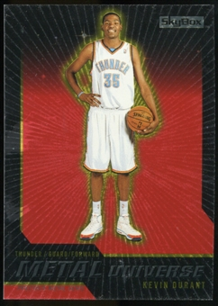 2008/09 Upper Deck SkyBox Metal Universe Precious Metal Gems Red #30 Kevin Durant 21/50