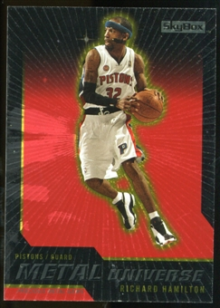 2008/09 Upper Deck SkyBox Metal Universe Precious Metal Gems Red #38 Richard Hamilton /50