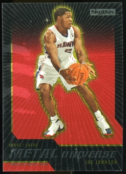 2008/09 Upper Deck SkyBox Metal Universe Precious Metal Gems Red #46 Joe Johnson /50