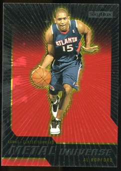 2008/09 Upper Deck SkyBox Metal Universe Precious Metal Gems Red #55 Al Horford /50