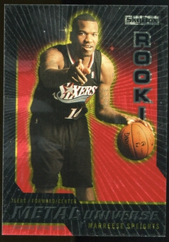 2008/09 Upper Deck SkyBox Metal Universe Precious Metal Gems Red #86 Marreese Speights /50