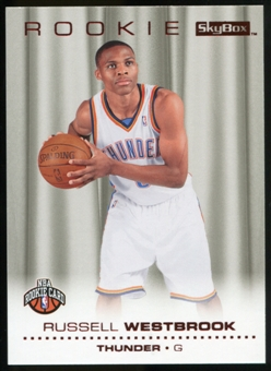 2008/09 Upper Deck SkyBox Ruby #204 Russell Westbrook /50