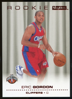 2008/09 Upper Deck SkyBox Ruby #207 Eric Gordon /50