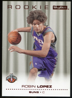 2008/09 Upper Deck SkyBox Ruby #214 Robin Lopez /50
