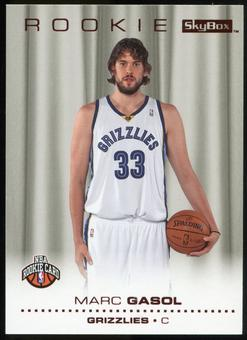 2008/09 Upper Deck SkyBox Ruby #228 Marc Gasol 14/50