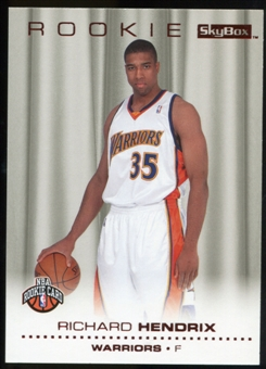 2008/09 Upper Deck SkyBox Ruby #230 Richard Hendrix /50