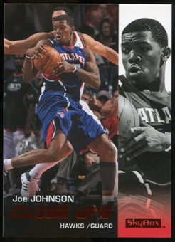 2008/09 Upper Deck SkyBox Ruby #172 Joe Johnson CU /50