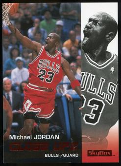 2008/09 Upper Deck SkyBox Ruby #176 Michael Jordan Close Ups /50