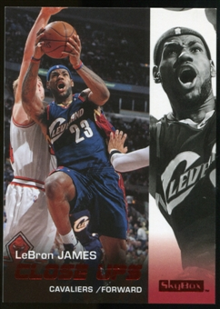 2008/09 Upper Deck SkyBox Ruby #177 LeBron James CU /50