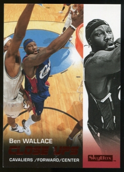 2008/09 Upper Deck SkyBox Ruby #178 Ben Wallace CU /50