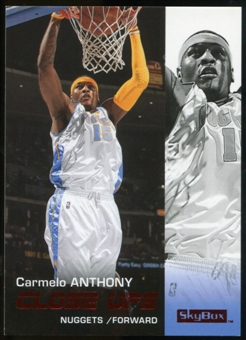 2008/09 Upper Deck SkyBox Ruby #180 Carmelo Anthony CU /50