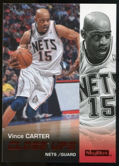 2008/09 Upper Deck SkyBox Ruby #188 Vince Carter CU /50