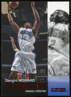 2008/09 Upper Deck SkyBox Ruby #191 Dwight Howard CU /50