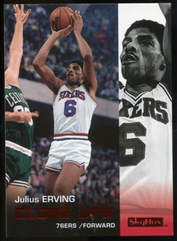 2008/09 Upper Deck SkyBox Ruby #192 Julius Erving CU /50