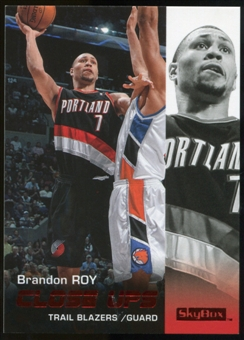 2008/09 Upper Deck SkyBox Ruby #195 Brandon Roy CU /50