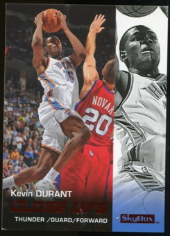 2008/09 Upper Deck SkyBox Ruby #197 Kevin Durant CU /50