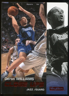 2008/09 Upper Deck SkyBox Ruby #199 Deron Williams CU /50