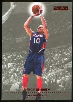 2008/09 Upper Deck SkyBox Ruby #1 Mike Bibby /50