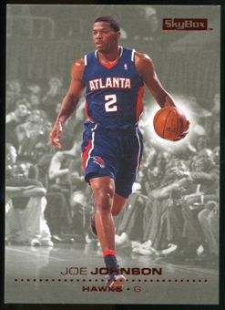2008/09 Upper Deck SkyBox Ruby #4 Joe Johnson /50