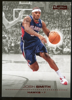 2008/09 Upper Deck SkyBox Ruby #5 Josh Smith /50
