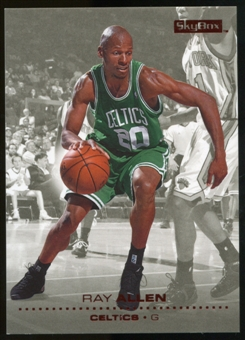 2008/09 Upper Deck SkyBox Ruby #7 Ray Allen /50