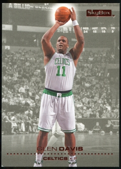 2008/09 Upper Deck SkyBox Ruby #8 Glen Davis /50