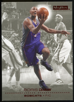 2008/09 Upper Deck SkyBox Ruby #16 Boris Diaw /50