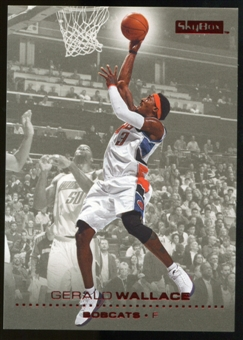 2008/09 Upper Deck SkyBox Ruby #17 Gerald Wallace /50