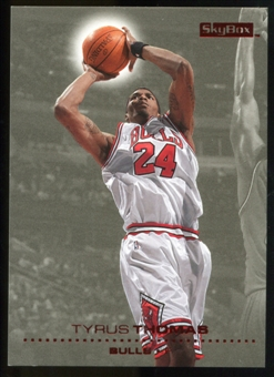2008/09 Upper Deck SkyBox Ruby #23 Tyrus Thomas /50