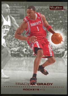 2008/09 Upper Deck SkyBox Ruby #54 Tracy McGrady /50