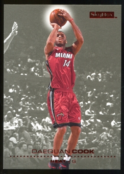 2008/09 Upper Deck SkyBox Ruby #79 Daequan Cook /50